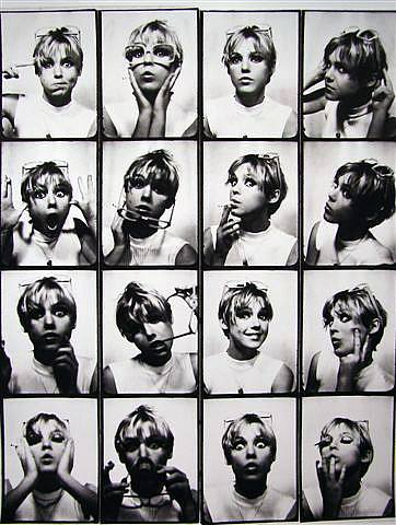 Edie Sedgwick, Photo Booth Portraits