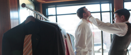 Gilt City Chicago is offering a deal from Nicholas Joseph Custom Tailors today: $1220: One style consultation and fitting to include six custom shirts, one custom blazer, and a pocket square.  $2070: One style consultation and fitting to include one Super 120s custom  three-piece suit, four custom shirts, two custom blazers, and a pocket  square.  I don't have any experience with them, but they've got 7 reviews on Yelp giving them 4.5 stars (take that for what it's worth). You can also check out their website. If you don't have a Gilt invite, click here to get one. Anyone have any insight on this?