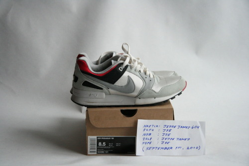 NIKE AIR PEGASUS '89  SIZE: 8.5 / CONDITION: VERY NEARLY DEADSTOCK   PRICE: $85 (OR BEST OFFER (ALL OFFERS WELCOME))  MORE PHOTOS: CLICK HERE