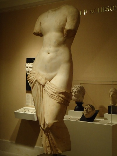 the always lovely Aphrodite, circa 2nd century AD (seen at MoFA)