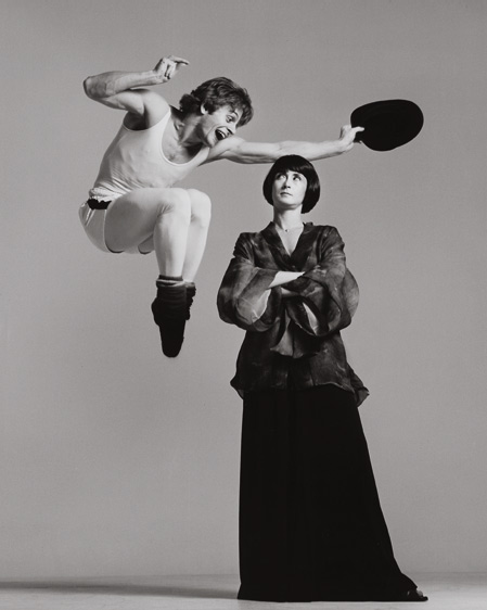 "kvetchlandia:  Richard Avedon     Mikhail Baryshnikov and Twyla Tharp, New York     1975 ""If a day goes by without my doing something related to photography, it's as though…I had forgotten to wake up.""  Richard Avedon"