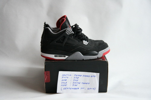AIR JORDAN 4 RETRO (2008)  SIZE: 8.5 / CONDITION: NEARLY DEADSTOCK   NOTES: ORIGINAL RETRO CARD INCLUDED  PRICE: $165 (OR BEST OFFER (ALL OFFERS WELCOME))  MORE PHOTOS: CLICK HERE