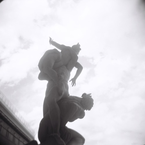 The Rape of the Sabine Women - Florence, August 2010