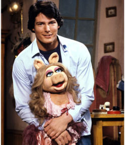 christopher reeve and miss piggy
