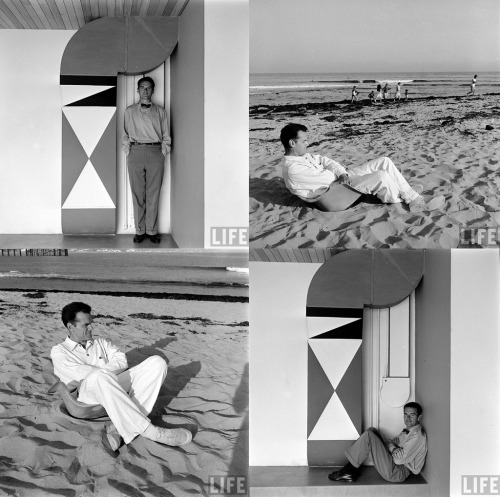 Here are some great shots of Charles Eames from the LIFE Photo Archive. Explore the LIFE Photo Archive yourself.