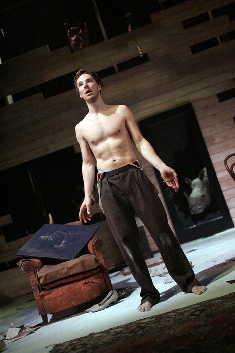 Shirtless Benedict Cumby has to be on this blog.