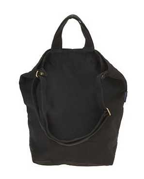 Baggu duck canvas tote in Black, Urban Outfitters, $24.00