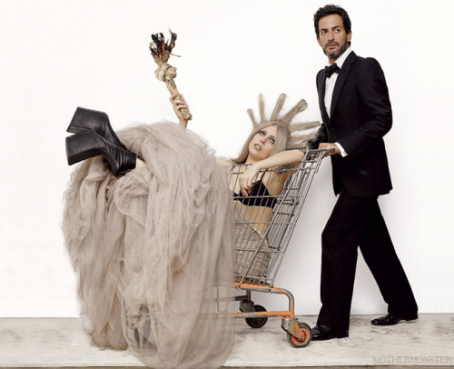 Lady Gaga and Marc Jacobs for V Magazine