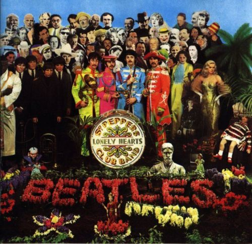 The album art from Sgt Peppers Lonely Hearts Club Band by The Beatles is one of the most popular album covers in music history.  Spacious Planet - Who Are All Those People In Sgt Peppers Lonely Hearts Club Band