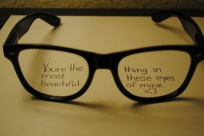 You're the most beautiful thing in these eyes of mine… =D ♥