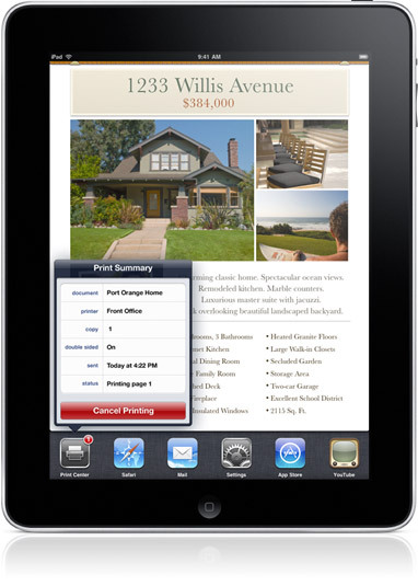 Apple - iPad - iOS 4.2 Software Update coming in November