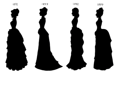 Make 1872 or 1887 knee-length, and you have my preferred wardrobe style.