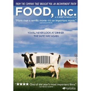 Food, Inc. is amazing.  This movie could revolutionize the health of our country.  I highly recommend you watch this asap.  It will change the way you look at food forever. Awesome!  Click the image to see a preview / interview with the director. Repost this and spread the word! (((c)))