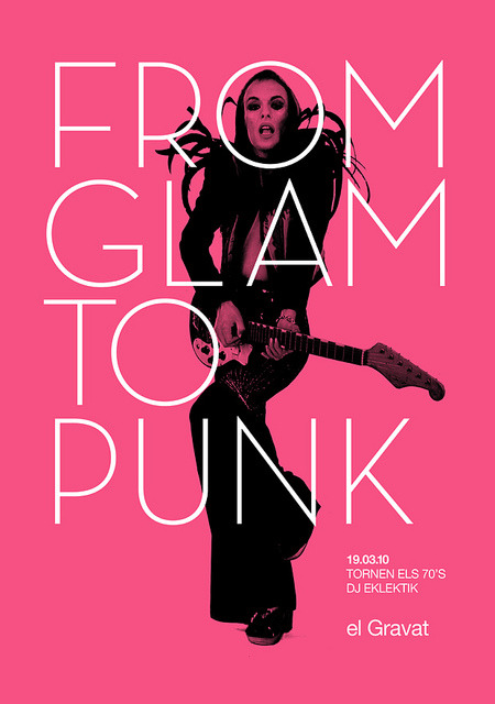 hotmonsters:  slang-king:  (Eno) From Glam To Punk jocelynbernard:Poster marindsgn (by Quim Marin)
