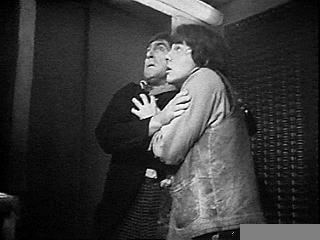 five-rounds-rapid:  What I Have Learned From Watching Second Doctor Serials If you are being pursued by Cybermen, Daleks, etc., the proper recourse is to cling to each other. This goes double if you have been cornered by said villains. Trying to escape? Who tries to escape? If you are experiencing Tardis turbulence, the proper recourse is to cling to each other. Failing that, try to land on top of each other in as dodgy a way as possible. If you are trapped in an elevator, the proper recourse is to cling to each other. If you are passing out from oxygen deprivation, the proper recourse is to cling to each other. If there is even the merest possibility of something scary happening within five miles of you, the proper recourse is to cling to each other. If you are perfectly safe, and you have ascertained that the Doctor does not need to be protected from the dangers posed by Zoe or the Brigadier, the proper recourse is, clearly, to cling to each other. You never know what could happen.