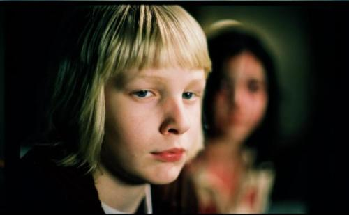 "Great movie, ""Låt den rätte komma inn"", or ""Let the right one in""."