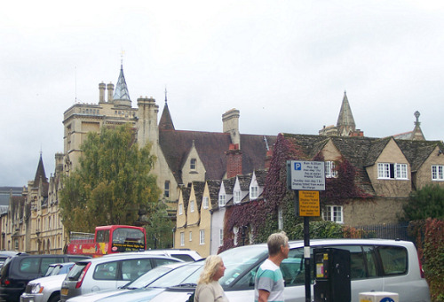 oxford. what a white sky D: