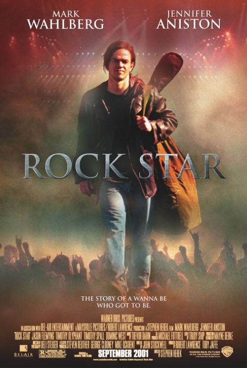 Rock Star - This movie is a little bit romance and a touch of musical. It tells us the story about a young vocals (Mark Wahlberg) who is fanatic about rock and roll music especially the band Steel Dragon. After all the great shows he's done with his own band (which is their song refers to Steel Dragon) he got fired because he had a fight in the stage. After that, suddenly he is recruited by the vocals of Steel Dragon. And that is when his adventure begins. I give this movie 7,8 out of 10.