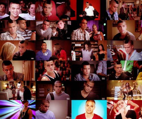 noah puckerman from the pilot to season 2