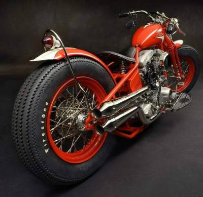 MICHAEL SCHUMACHER'S CALIFORNIA CUSTOM BOBBER