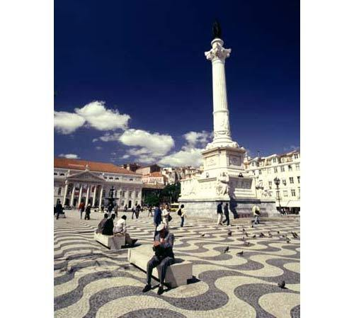 allaboutportugal:  The Rossio is the popular name of the Pedro IV Square in Lisbon. It is located in the Pombaline Downtown of Lisbon and has been one of its main squares since the Middle Ages. It has been the setting of popular revolts and celebrations, bullfights and executions, and is now a preferred meeting place of Lisbon natives and tourists alike. Submitted by fuckyeahinternational.