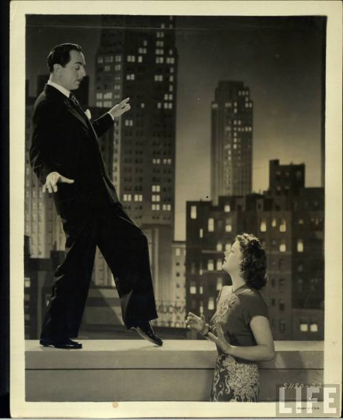 satinecharm:  Myrna Loy and William Powell