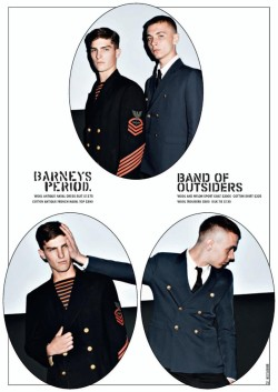 Barneys Fall 2010 | Band of Outsiders | Yuri Pleskun & Paolo Anchisi