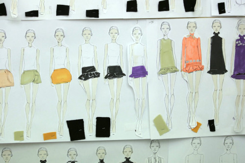 textbook:  look at this fall 2010 miu miu sketch. fun.  I like the clothes better like this haha.