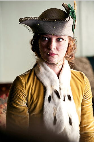meredithbklyn:  Gretchen Mol in Boardwalk Empire  She was Det. Annie Norris in Life on Mars (US).
