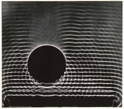 un:  (via benjaminhilts:georgedarby) Berenice Abbott, Behavior of Waves, ca. 1960