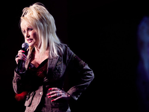 "Dolly Parton, on leaving home at 18: ""I knew that I had to go. It  wasn't that I wasn't proud of who I was and where I was from. But I had a  dream, and I just couldn't imagine myself [like my mother]. … I  wanted to do something with my music. I knew I was going to leave when I  was 18 years old. And I graduated from high school on a Friday night,  and I left for Nashville on Saturday morning. I was ready to go."" (Image: Brendan Hoffman/Getty Images Entertainment.)"