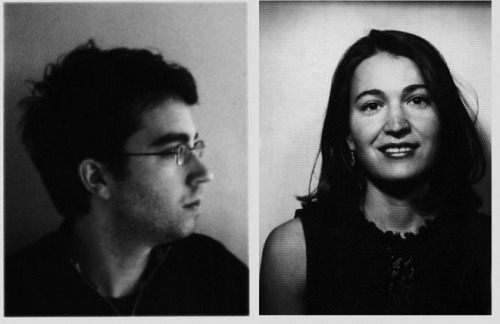 Jonathan Safran Foer and Nicole Krauss (aka Mrs. Foer). Sappiest couple in the world.
