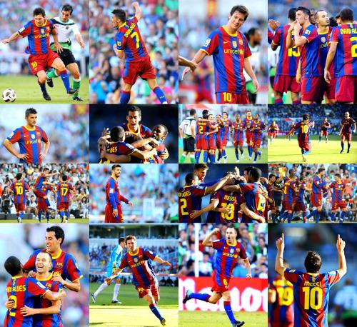 barcelona fc players 2011. Santander 0-3 FC Barcelona