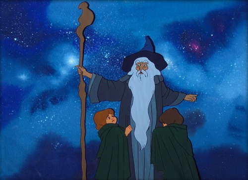 onceuponahobbit:  Gandalf Protects Merry and Pippin
