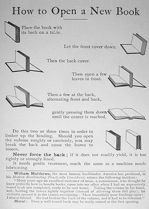 Cómo abrir un libro. youwillbeassimilated: Via nevver: How to Open a Book