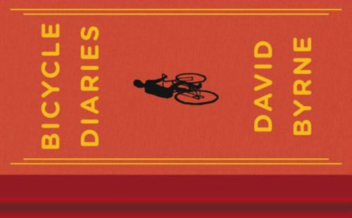 "David Byrne's ""Bicycle Diaries"" Audio Book, Enriched With Sound Effects and Atmosphere - ""After Bicycle Diaries came out in hardback about a year ago, I wondered to myself, what if the audiobook for this project was more like a cross between a podcast and a radio show instead of the usual author or actor reading in silence? I was thinking about the kind of radio show that NPR stations do from time to time, with background music, street sounds and other ambiences that help put the listener in the picture. So, I did one chapter (""New York"") as a test, with me reading, and though it took a lot longer to assemble than I expected, I felt it did indeed do what I imagined it could; when you heard the tinkle of glasses and silverware during a restaurant ""scene,"" boom!-you immediately felt you were there. Your mind fills in the details and these little sound cues help paint a fuller picture. If only I could have added smell! When the text went off on one of many tangents, and I began ruminating about a subject off the beaten path, a little bit of music I happened to have available helped tell you, the listener, that, yes, we've left the ""story"" temporarily, but will return soon."""