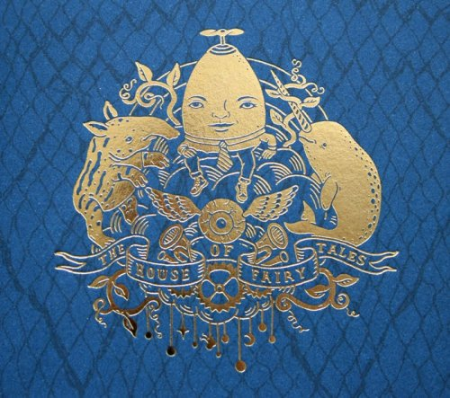 Andrew Rae created the illustrations for a passport for The House of Fairytales.