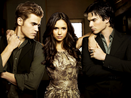 The Vampire Diaries. The Salvatore brothers. My new obsession…