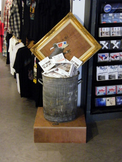 banksystreetart:  Banksy - Exit Through The Gift Shop - Inside HMV