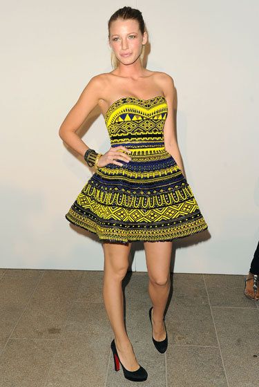 Blake Lively at Fashion's Night Out: The Show