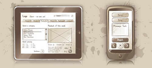 wireframes:  An Illustrator Wireframing Toolkit (via Wireframes Magazine)