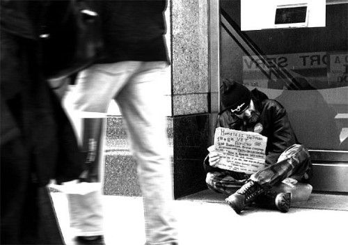 Homeless Photo of the Day  By Steve Mcdonald