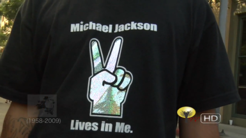Michael Jackson lives in me.
