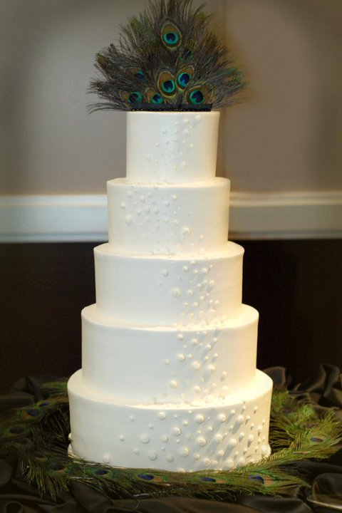 My friend Reji's wedding cake.