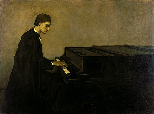 Romaine Brooks Renata Borgatti, Au Piano1920