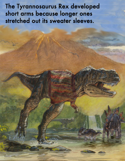 Why Did the Tyrannosaurus Rex Have Short Arms?