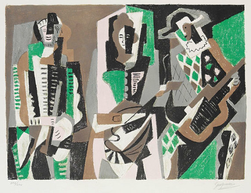 Gino Severini The Concert 1955