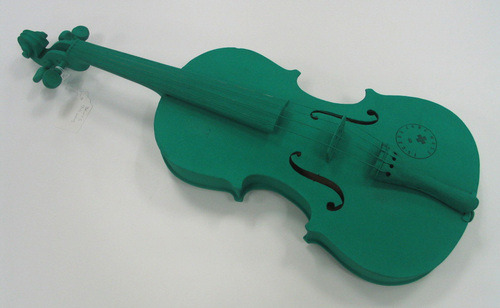 Joseph Beuys Green Violin 1974