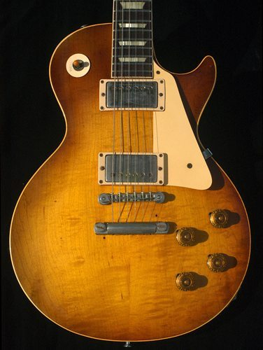 1958 Les paul standard The Holy Grail of Gibson.
