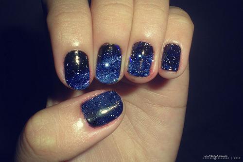 The Astonishing Black nails on tumblr Digital Photography